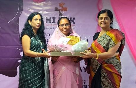 Padmashree Phulbasan Yadav felicitated by Hitek Hospitals