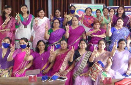 Women's Day celebrated in Girls College Durg