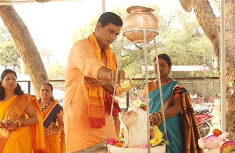 Mahashivratri Puja at Khursipar Budhadev Mandir