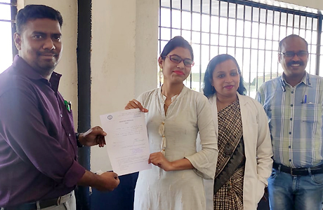 Bhavna of MJ College appointed in AIIMS Raipur