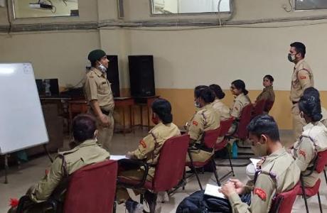 Culmination of NCC Cadre Camp at SSMV Junwani Bhilai