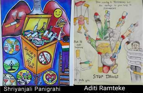 Painting competition on Drug Abuse