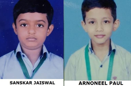 RPS students shine in international olympiad
