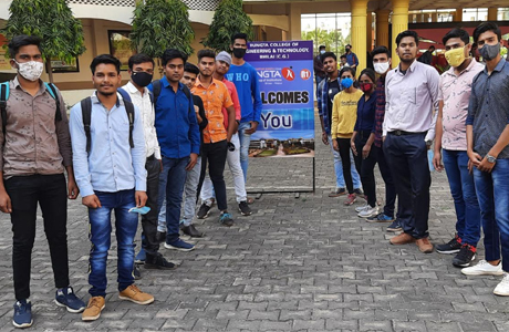 Offline classes begin in Santosh Runga Campus