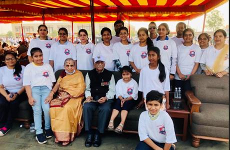 Swarnim Vijay Varsh Celebration at Military Station