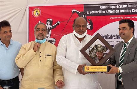 Venkateshwara Signature School to open Fencing Academy