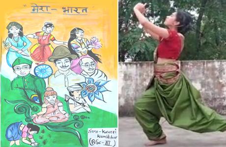 Azadi ka amrit mahotsava at Girls College Durg