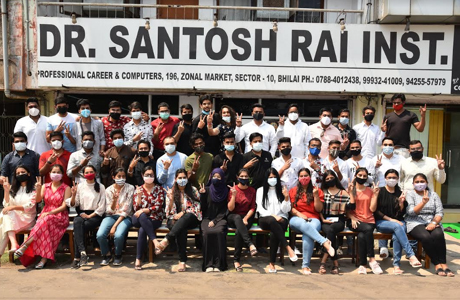 Santosh Rai Institute students Shine in CMA