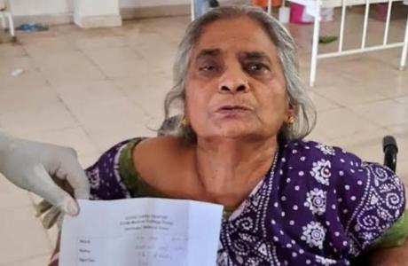76 की उम्र, डायबिटीज और हाइपरटेंशन, कस्तूरी ने दी कोविड को मात