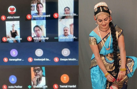 अंतर्राष्ट्रीय नृत्य दिवस पर गर्ल्स कालेज में छात्राओं का सम्मिलन