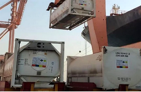 80 MT oxygen received from Saudi