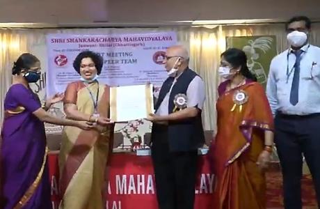 SSMV Junwani rated 'A' by NAAC