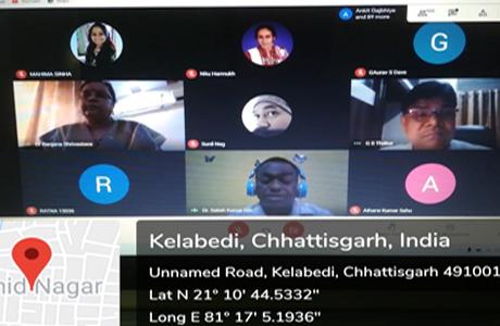 दुर्ग साइंस कालेज में जीनोम अनुक्रमण पर राष्ट्रीय वेबीनार
