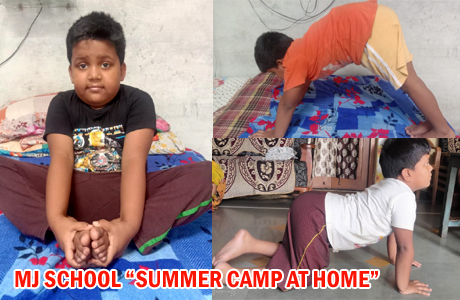 Summer Classes at Home by MJ School Bhilai