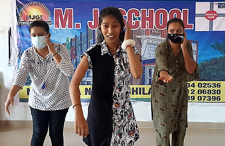 Summer camp at MJ School Bhilai