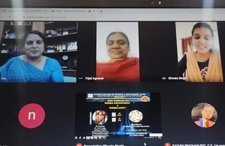 संजय रूंगटा समूह में महिला सशक्तिकरण एवं सुरक्षा पर मंथन