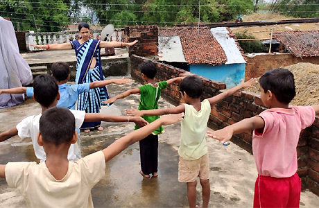 Udaan takes yoga to villages