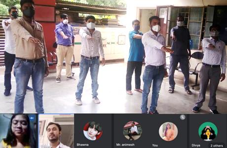 स्वरूपानंद महाविद्यालय में तंबाकू निषेध दिवस का आयोजन
