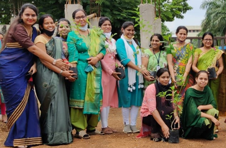 शंकराचार्य कालेज ऑफ नर्सिंग ने मनाया पर्यावरण दिवस