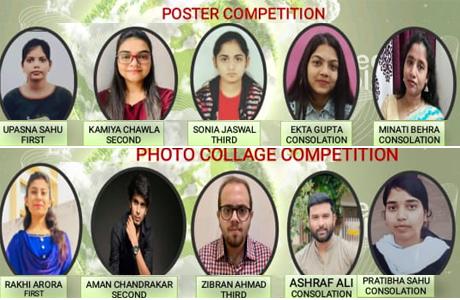 पर्यावरण दिवस पर स्वरूपानंद कालेज एवं क्रेडा द्वारा विविध आयोजन