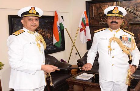 भिलाई के श्रीकुमार नायर बने नौसेना के डायरेक्टर जनरल