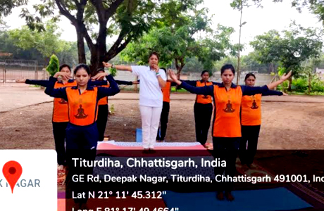 Yoga for health at Science College