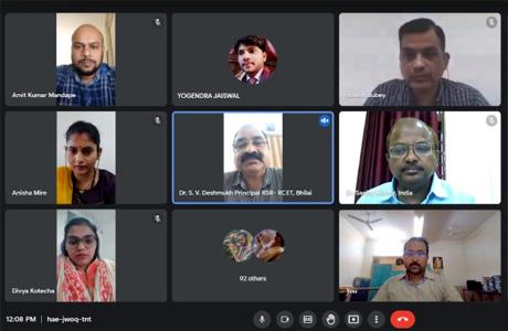 संजय रुंगटा ग्रुप मे ग्रीन कंप्यूटिंग पर वेबिनार आयोजित