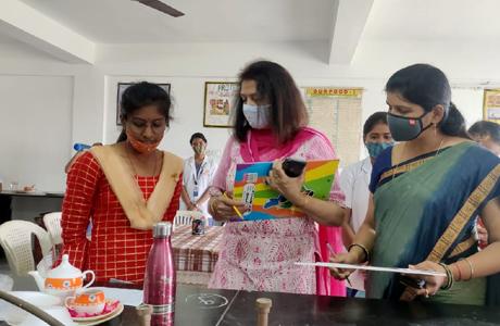 Breast feeding week at MJ College of Nursing