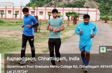 शंकराचार्य महाविद्यालय में फिट इंडिया फ्रीडम रन