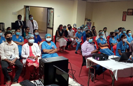 Infection Prevention Control at Hitek Hospital