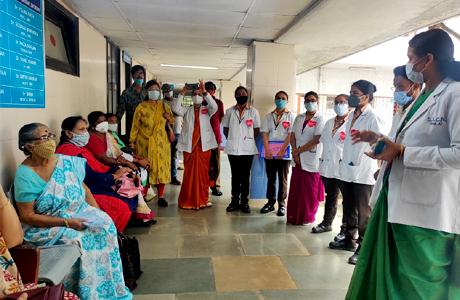 श्रीशंकराचार्य नर्सिंग कॉलेज में हृदय दिवस मनाया