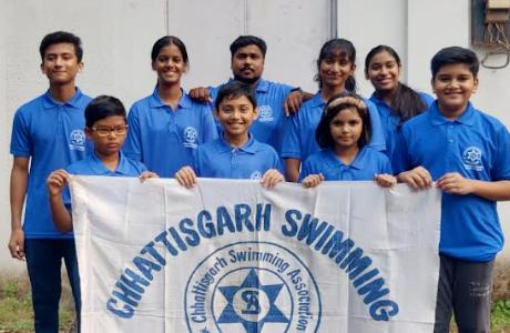 33 member CG team to participate in national aquatics